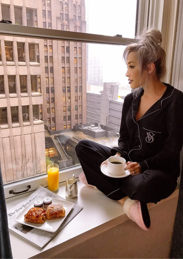 Breakfast At The Fairmont Olympic Hotel