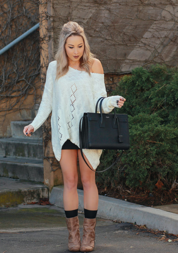Winter Knit Sweater For California Weather