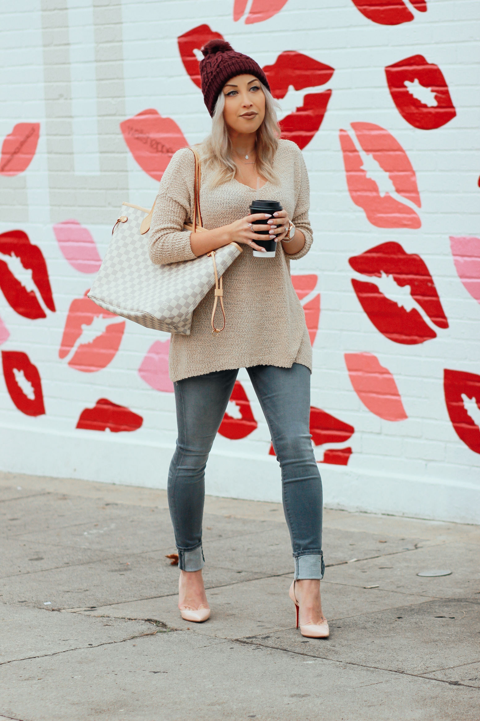 Blondie in the City | Grey Hudson Jeans | Hello 2017
