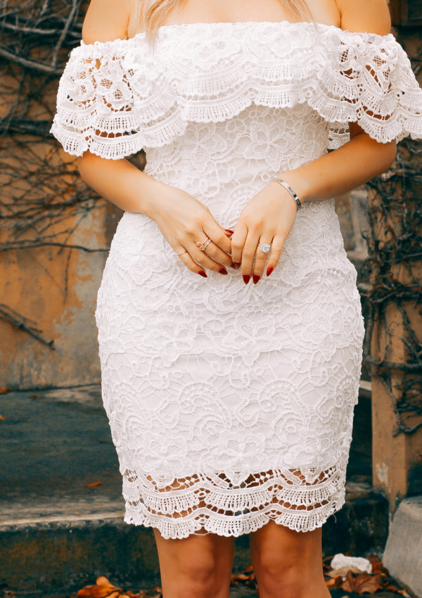 The Most Perfect Bridal Shower Dress