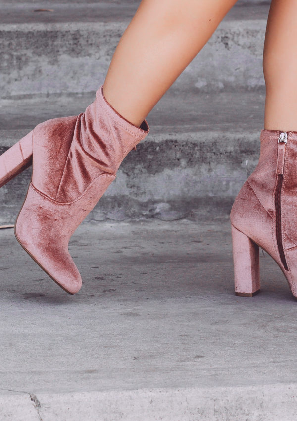 Every Girl Needs A Pair Of Pink Velvet Shoes