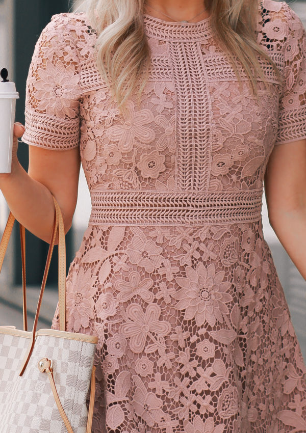 The Prettiest Pink Spring Dress