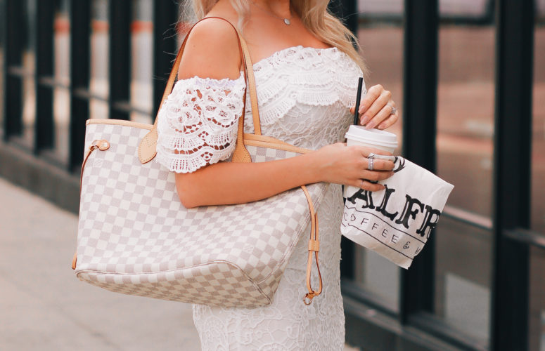 White Lace & Louis Vuitton