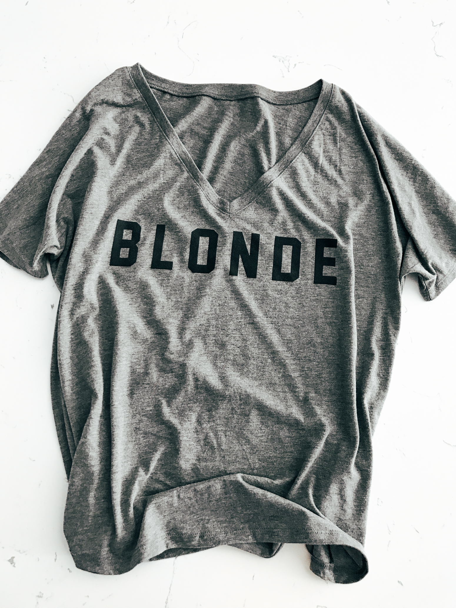 Blondie in the City | Blonde, Brunette, & Ginger BFF Tee's | Cute Girly Tee
