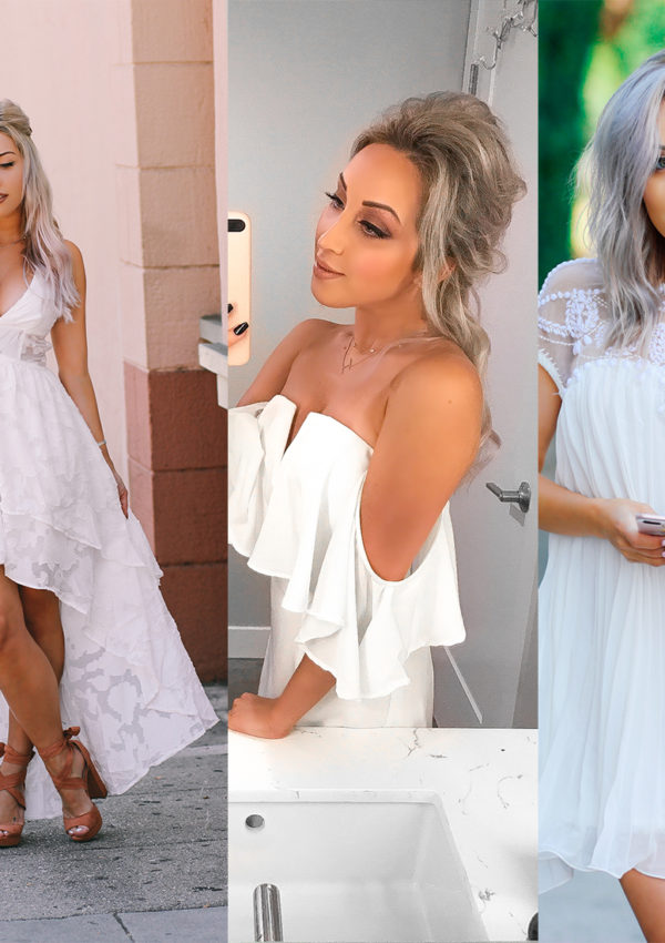 The 5 White Dresses That Are Perfect For Your Bridal Shower