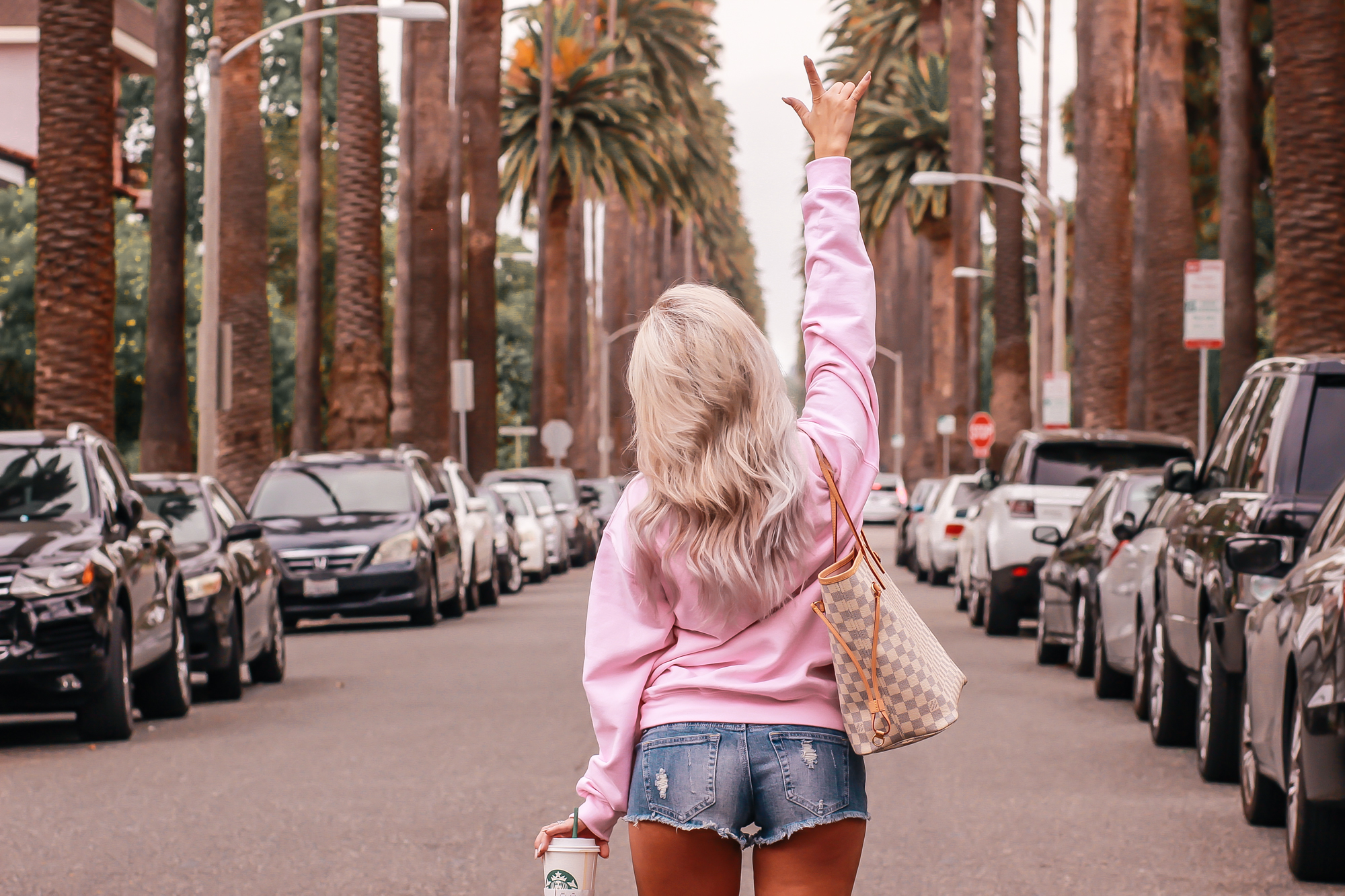 Pink Sweatshirt for the Bride |by Blondie in the City