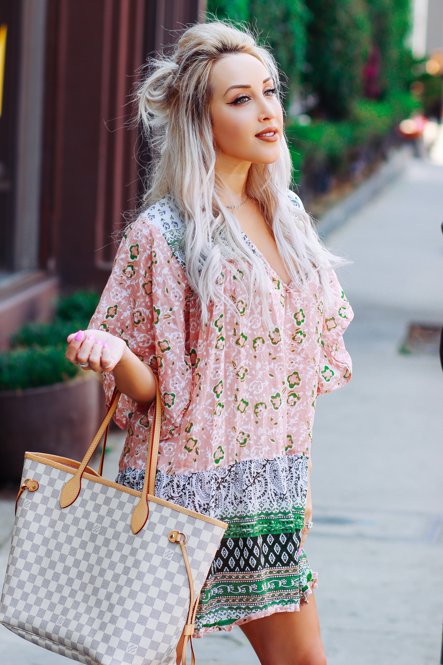 Blondie in the City | Boho Style Dress @LavishGOLD