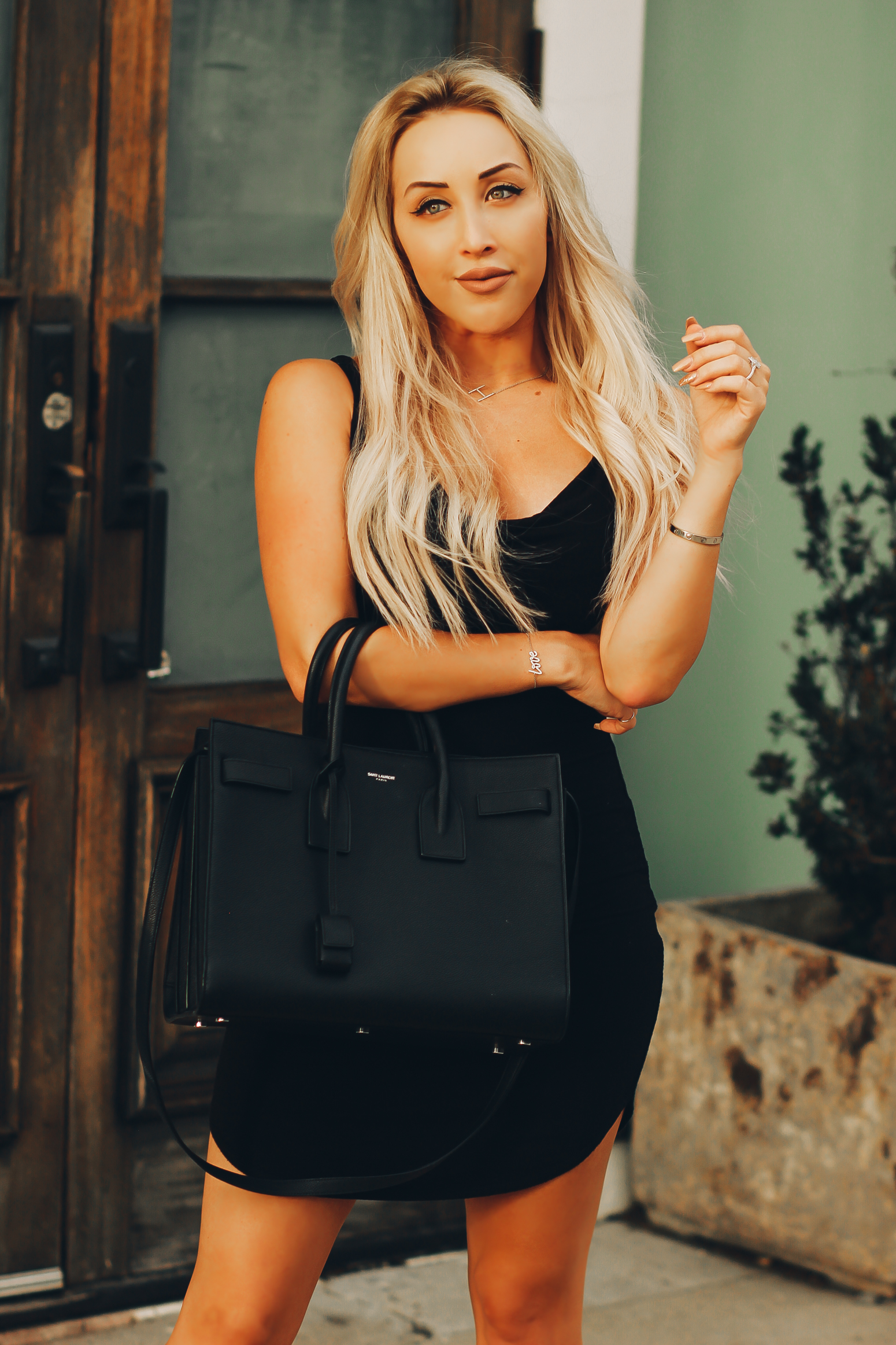 Blondie in the City | The Perfect LBD | Little Black Dress