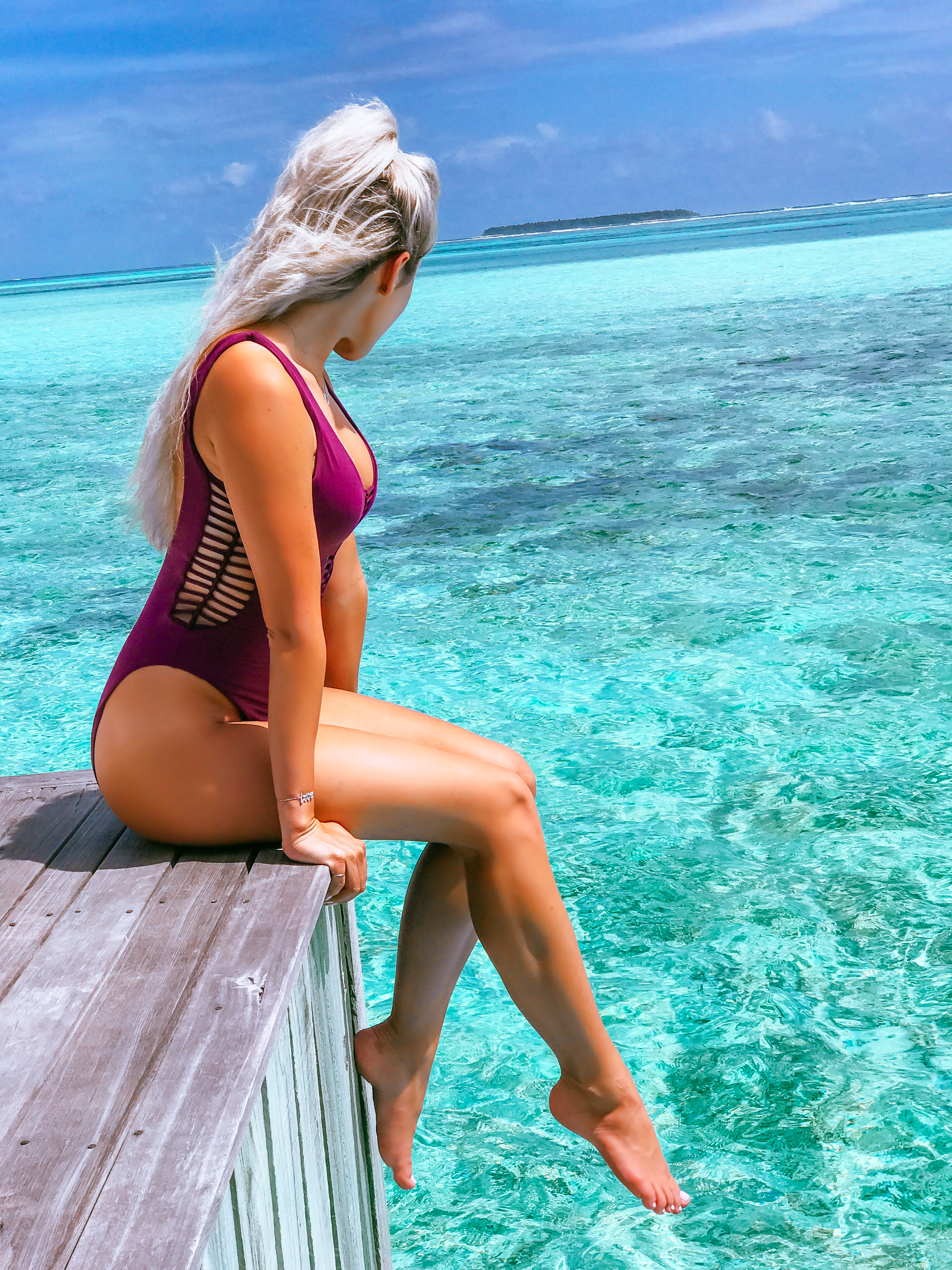 Blondie in the City | Honeymoon Vibes | The Maldives | Married Life | Becca Swim @beccabyrv