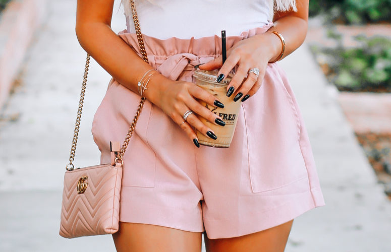The Cutest Pink Shorts You've Ever Seen