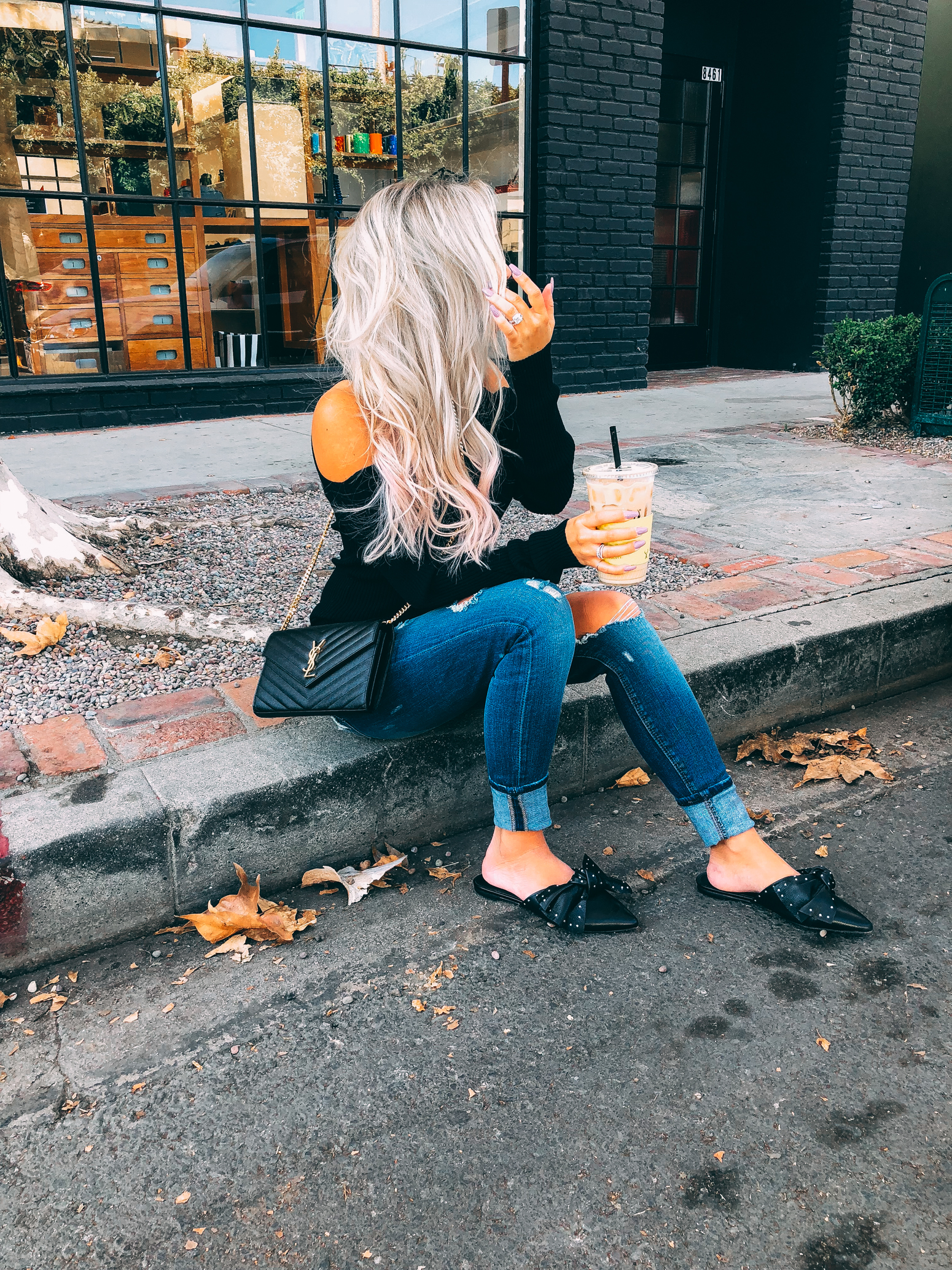 Blondie in the City | Fall Fashion Inspo | YSL | Sweater Weather