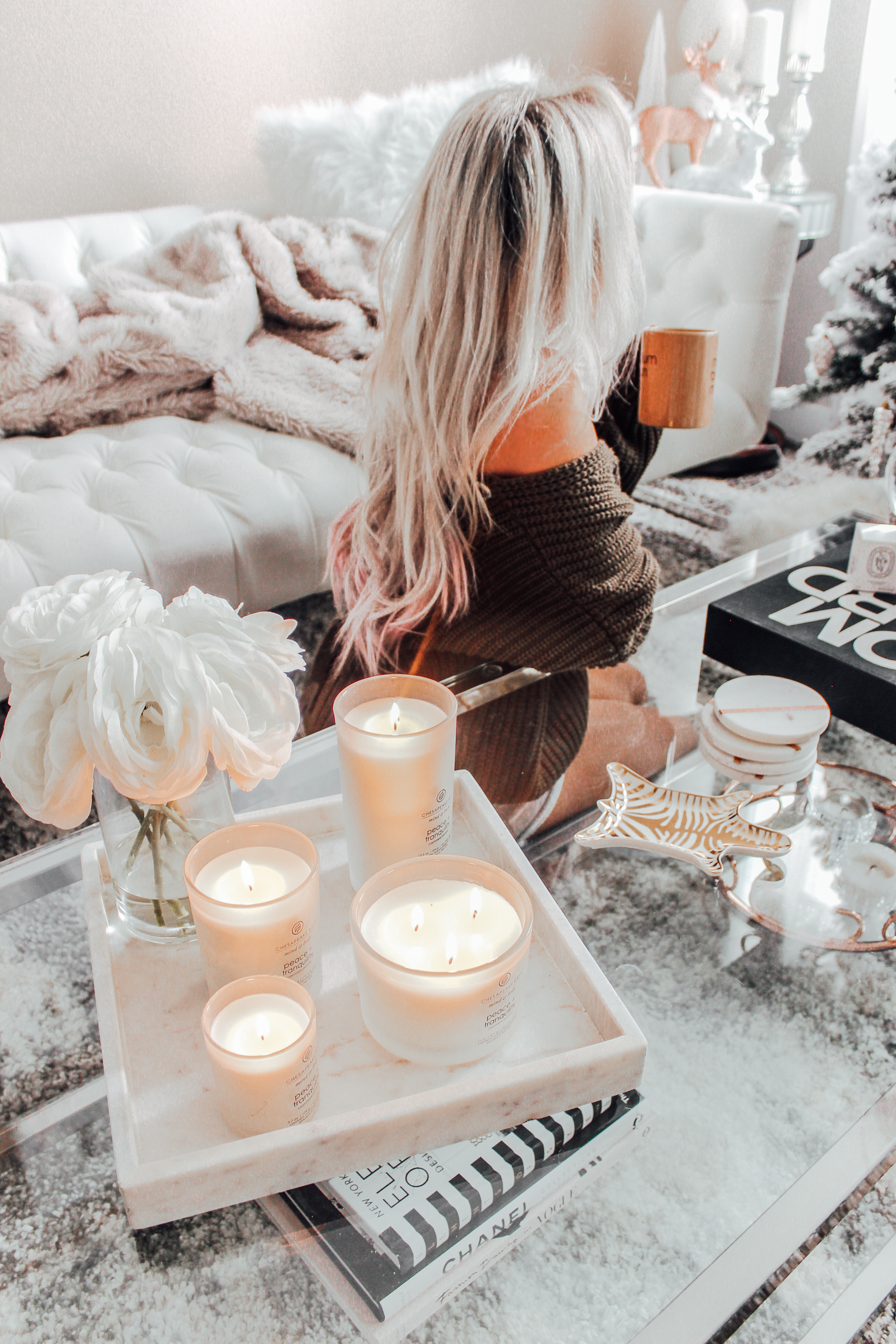 Holiday's At Home With Chesapeake Bay Candles | Christmas Decor | Christmas inspo