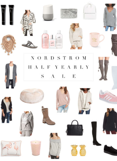 My Picks From The Nordstrom Half Yearly Sale 2017-2018