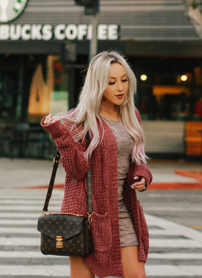 The Coziest Cardigan + December Trip Planned!