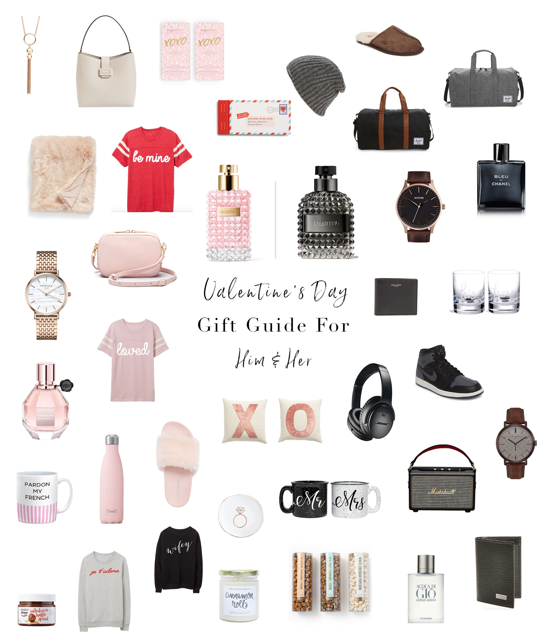 His & Hers Valentine's Day Gift Guide | Blondie in the City by Hayley Larue