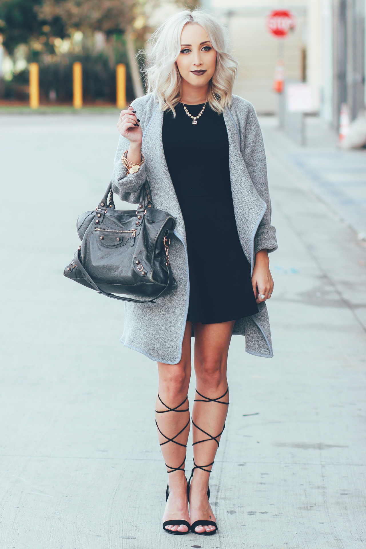 Lace Up Those Heels - BLONDIE IN THE CITY