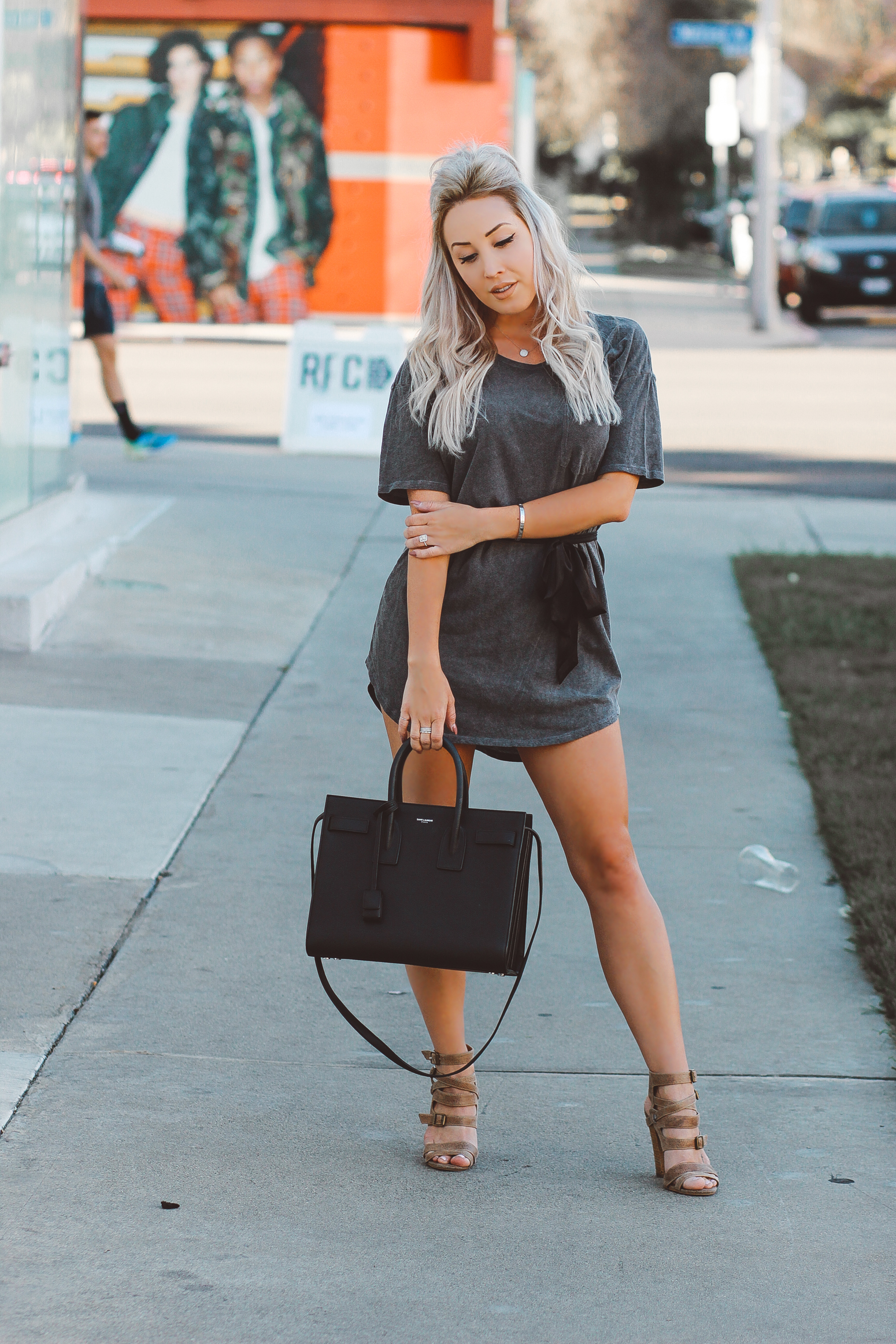 32a629279e How To Style A T-Shirt Dress