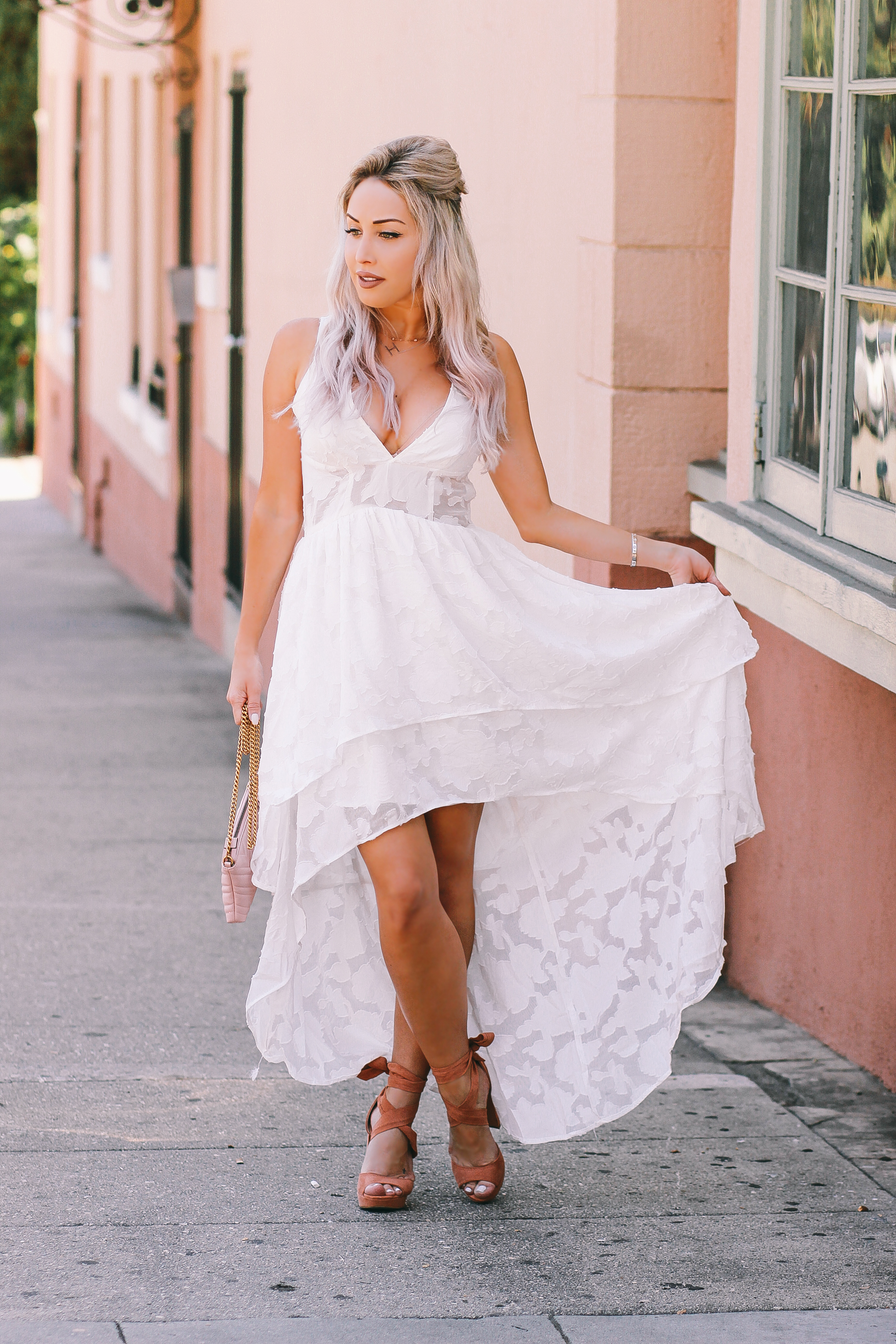 dont know what to wear to your bridal shower here are 5 dresses