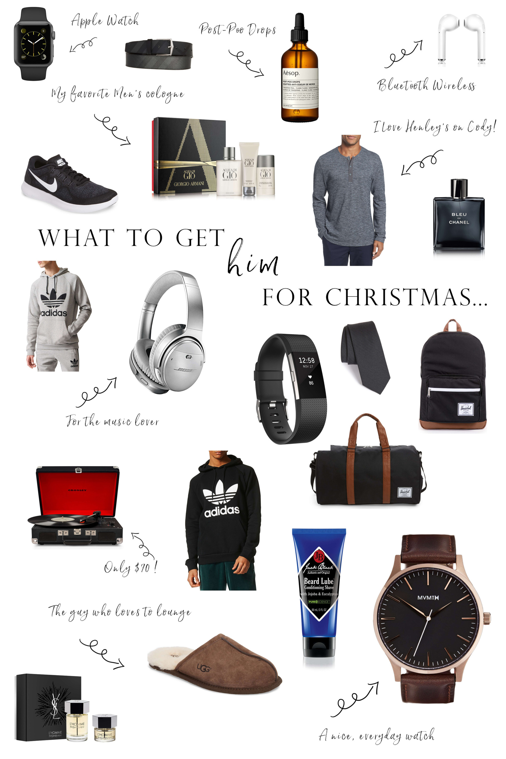 what to get him for christmas christmas gift guide gift guide