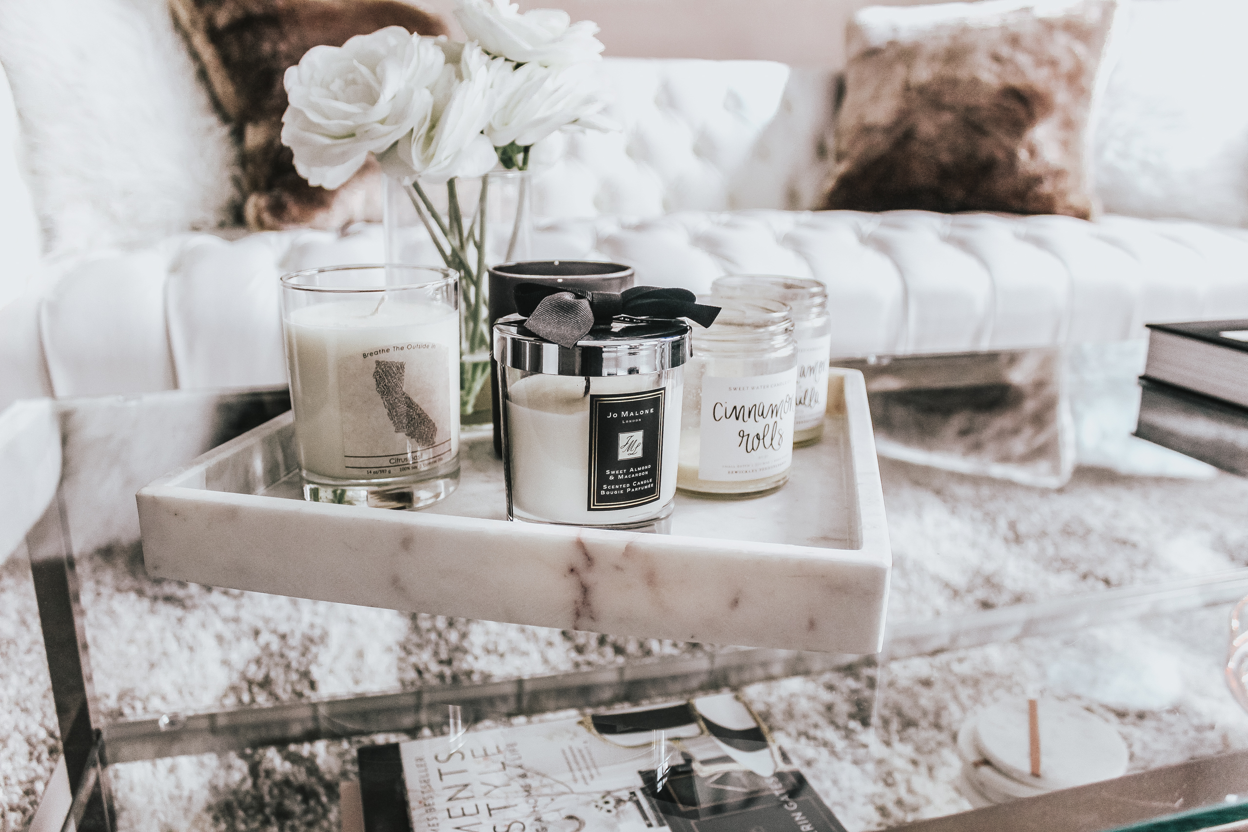 Tom Ford Book Decor Coffee Table Styling