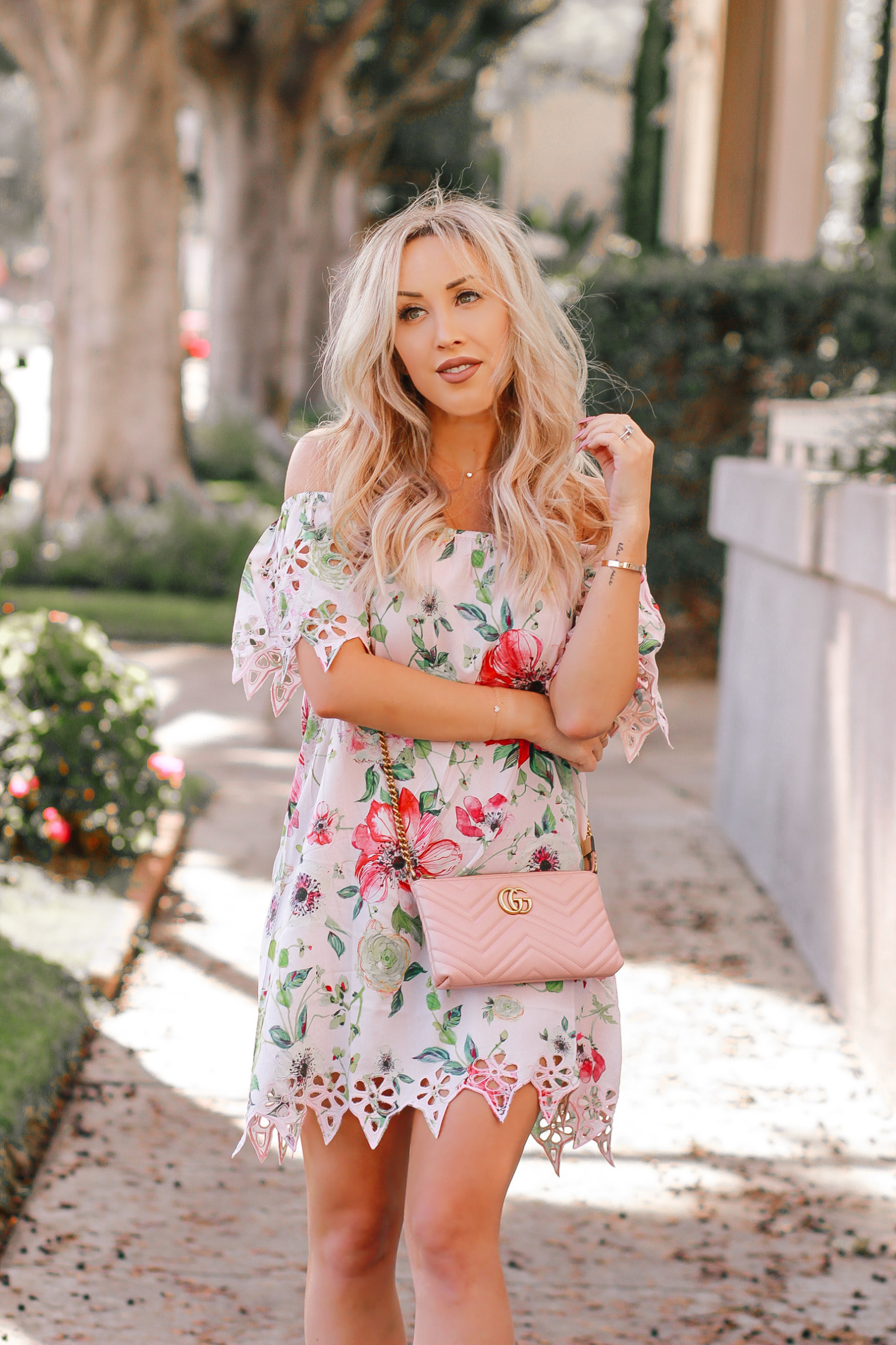 Pretty Little Pink Floral Dress You Need This Spring